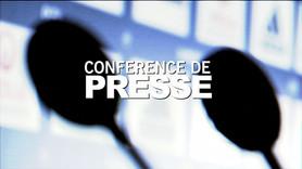 Conférence de presse présentation Bertrand Traoré