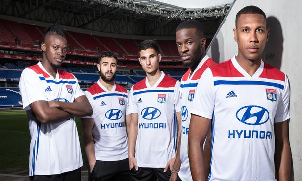 057cc8b39a2 Revealed: Olympique Lyonnais 2018-2019 adidas jerseys
