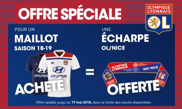 recognized brands wholesale outlet new style Boutiques : votre écharpe OL/Nice offerte !
