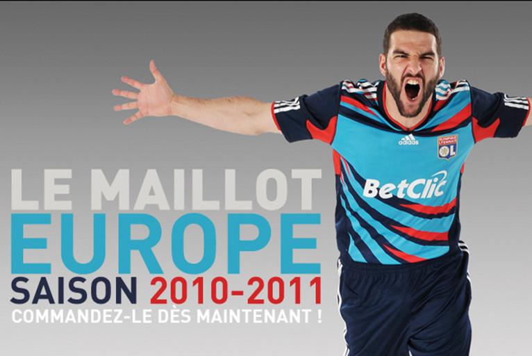 Maillot THIRD Olympique Lyonnais MARCAL