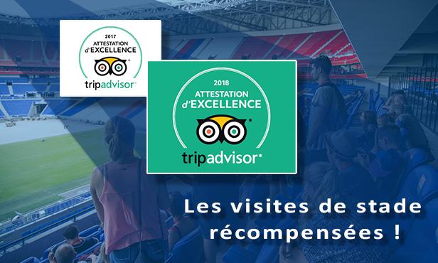 Groupama Stadium Les Visites De Stade Une Nouvelle Fois Recompensees Par Tripadvisor