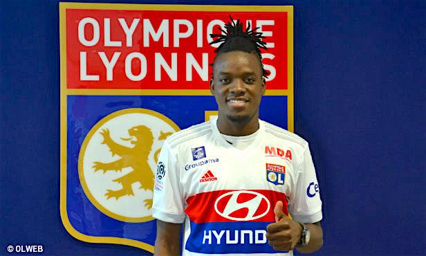 Maillot THIRD Olympique Lyonnais Bertrand TRAORE