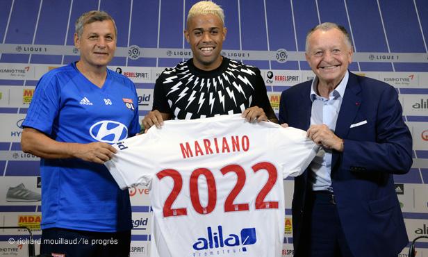 Maillot Domicile Olympique Lyonnais Mariano DIAZ