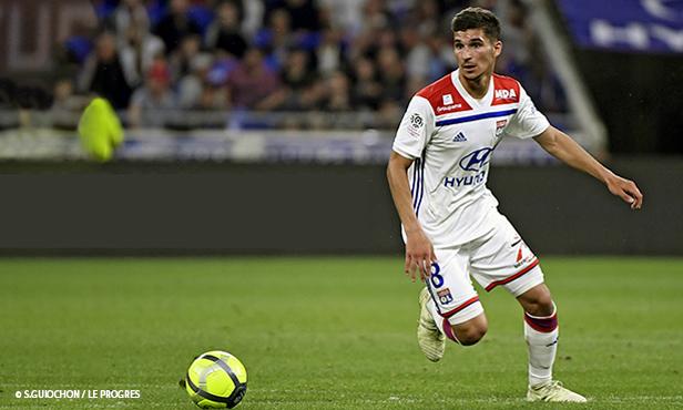 Maillot THIRD Olympique Lyonnais Houssem AOUAR