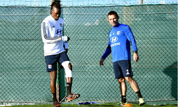 maillot entrainement OL MARCAL