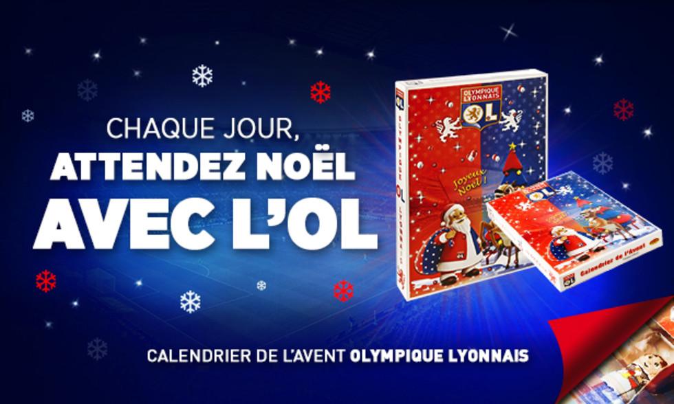 Calendrier De Lavent Football.Boutiques Calendrier De L Avent De L Olympique Lyonnais