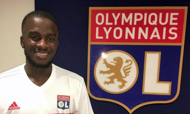 Maillot Domicile Olympique Lyonnais Tanguy NDOMBELE